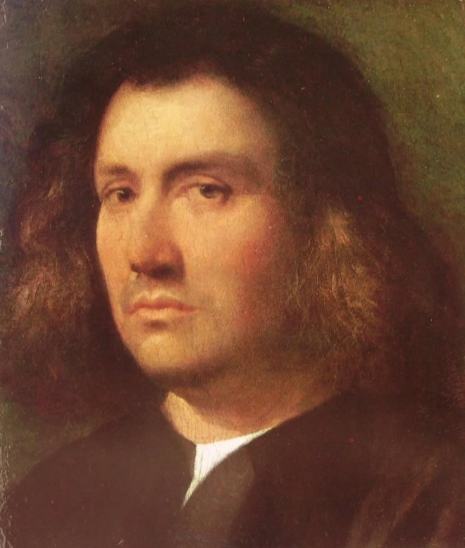 Giorgione: Busto d'uomo