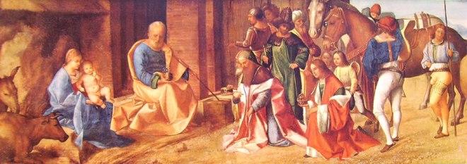 Giorgione: L'adorazione dei Magi