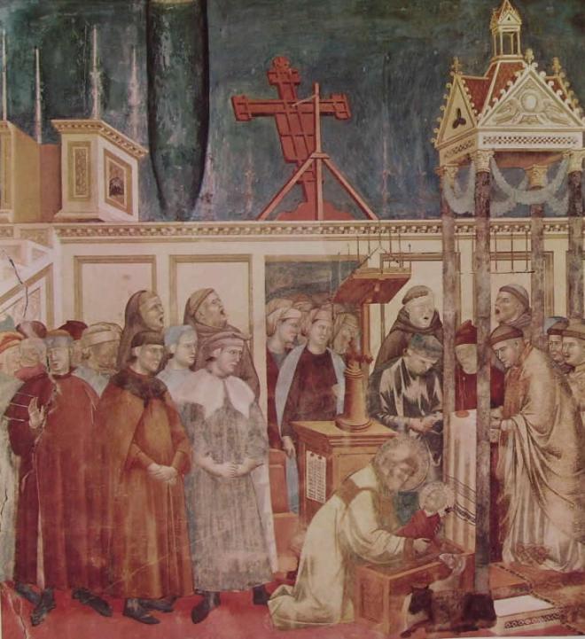Giotto: Il presepe di Greccio