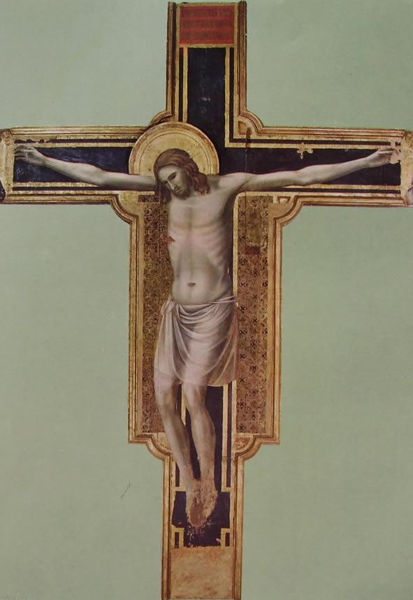 Crocifisso, cm. 303, Tempio Malatestiano, Rimini