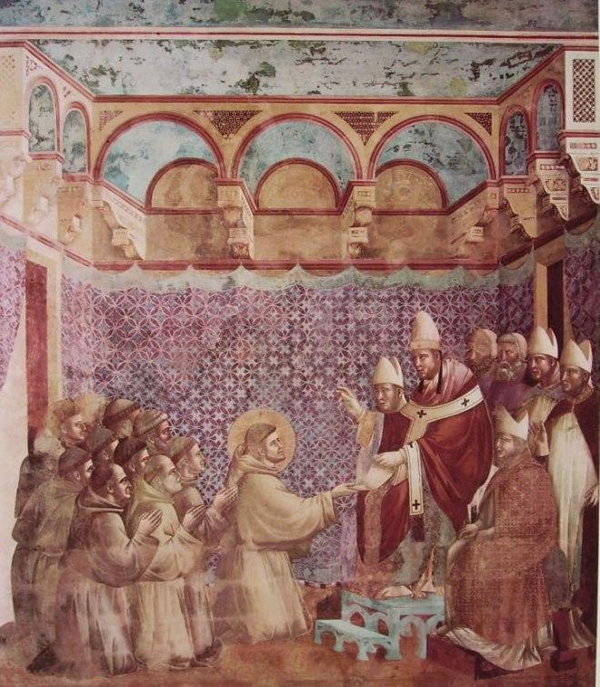 Giotto: La conferma della regola