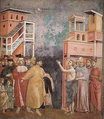 Giotto: La rinunzia dei beni terreni