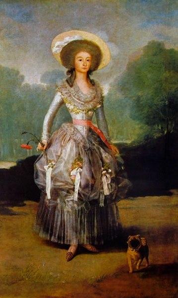 Goya - Maria Ana pontejos y Sandoval, Marchesa de Pontejos