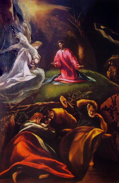 El Greco: L'orazione nell'orto