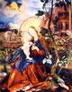 18 Grunewald - Madonna con il bambino