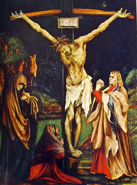 Matthias Grünewald: La piccola crocifissione