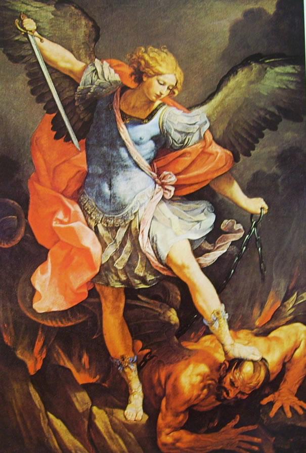 San Michele e l'arcangelo