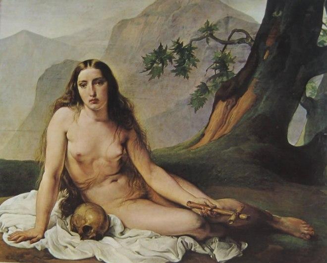 Hayez: Maddalena penitente