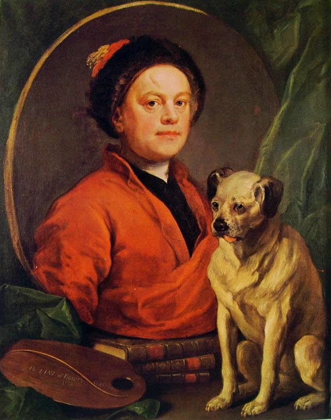 Autoritratto con il cane, cm. 90 x 70, Tate Gallery, Londra.