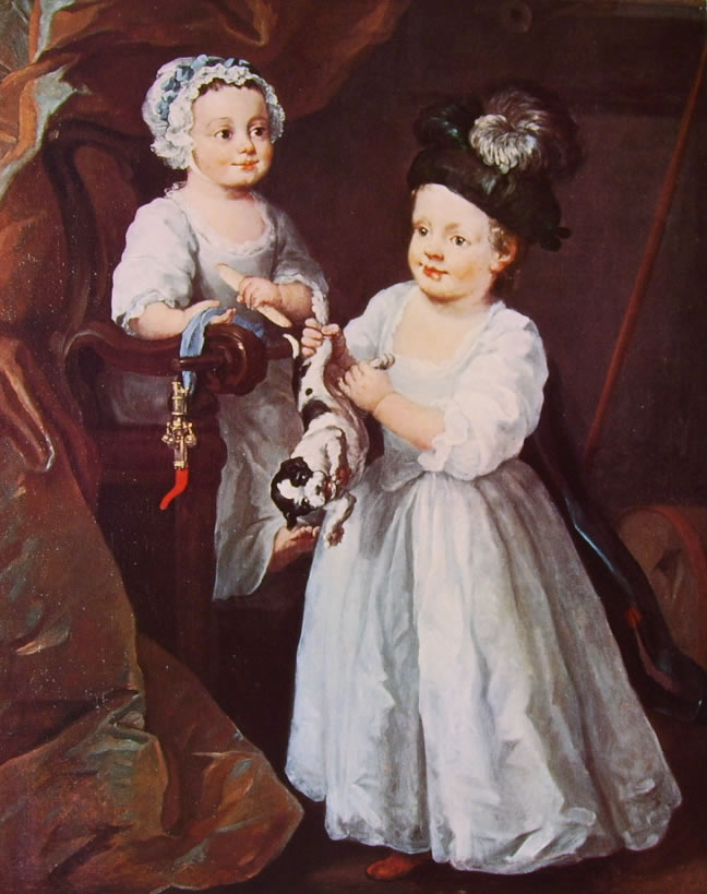 William Hogarth: I bambini Grey
