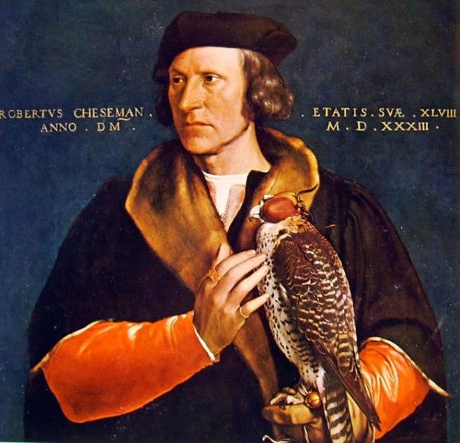 Hans Holbein il Giovane: Ritratto di Robert Cheseman