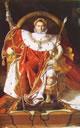 11 Ingres - Napoleone I sul trono imperiale