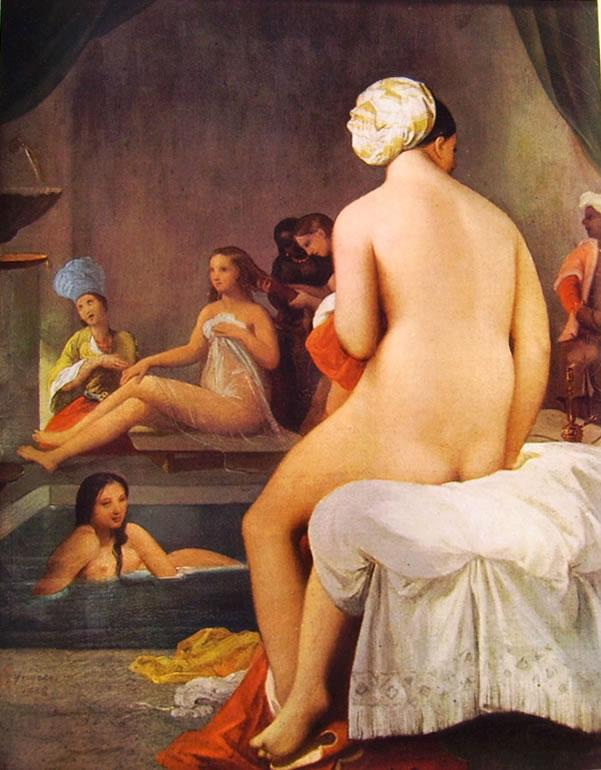 Jean-Auguste-Dominique Ingres: La piccola Bagnante