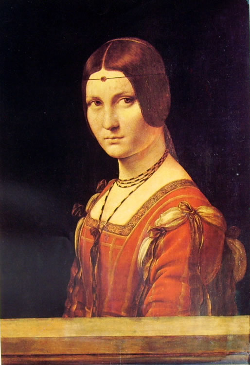 Leonardo: La belle Ferronnière