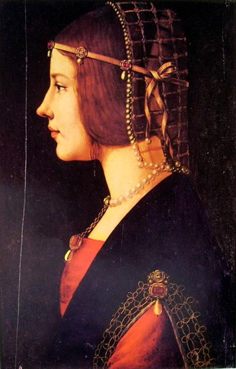 Leonardo: Ritratto di donna