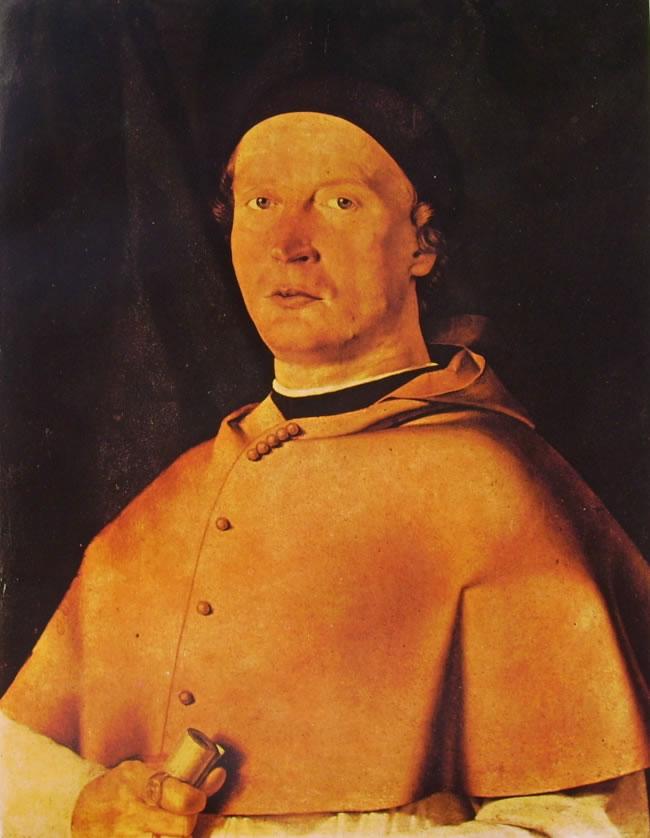 Lorenzo Lotto: Il vescovo Bernardo de' Rossi