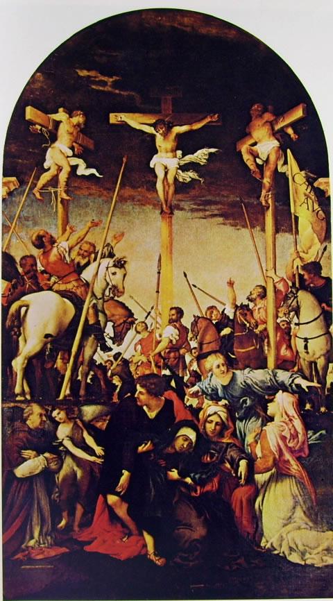 Lorenzo Lotto: Crocifissione