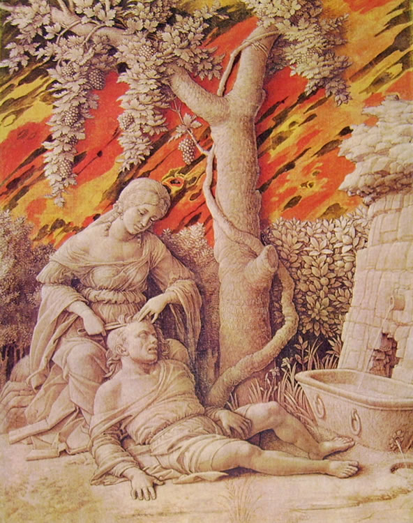 Mantegna: Dalila e Sansone