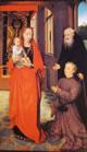 3 Memling - Madonna col bambino Sant'Antonio abate e un devoto