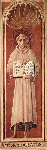 Paolo Uccello: Cappella dell'Assunta - Il beato Jacopone