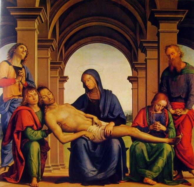 Il Perugino: Pietà