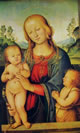 27 perugino - madonna col bambino e san giovannino