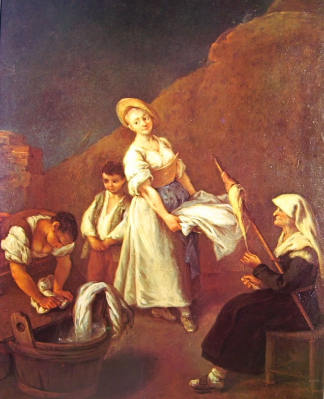 Pietro Longhi: Le lavandaie