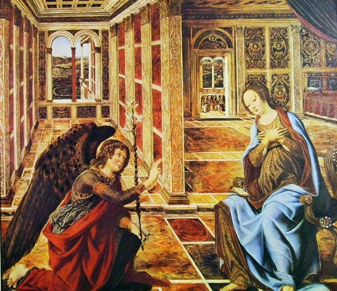 Antonio del Pollaiolo: Annunciazione