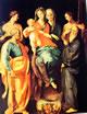 25 Pontormo - Pala di Sant'Anna - Madonna con il bambino