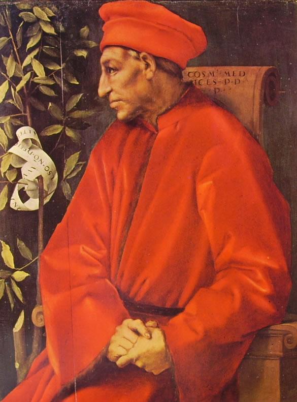 Pontormo - Cosimo il Vecchio de' Medici