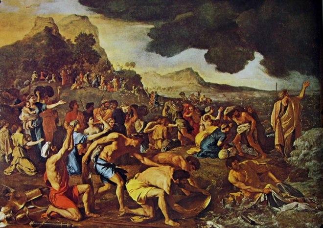 Nicolas Poussin: Il passaggio del Mar Rosso