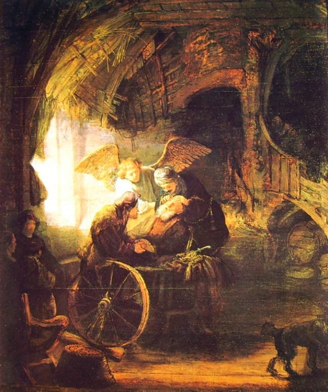Rembrandt Harmenszoon Van Rijn: Tobia guarito dal figlio