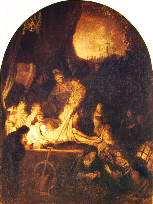 Rembrandt Harmenszoon Van Rijn: La deposizione nel sepolcro