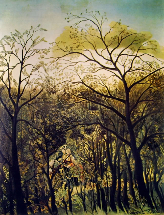 Rousseau il Doganiere: Convegno nella foresta