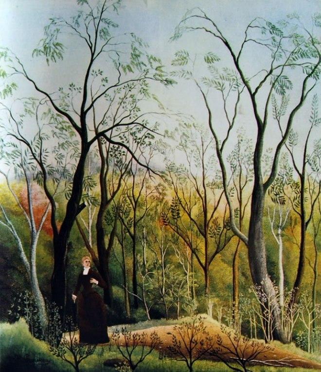 Rousseau il Doganiere: Passeggiata nella foresta