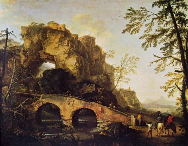 Salvator Rosa: Il ponte
