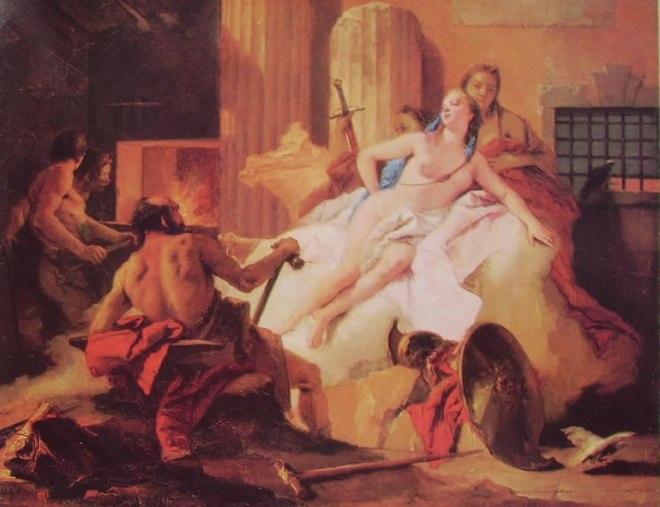 Il Tiepolo: Venere e Vulcano