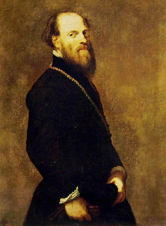 Ritratto di gentiluomo dalla catena d'oro