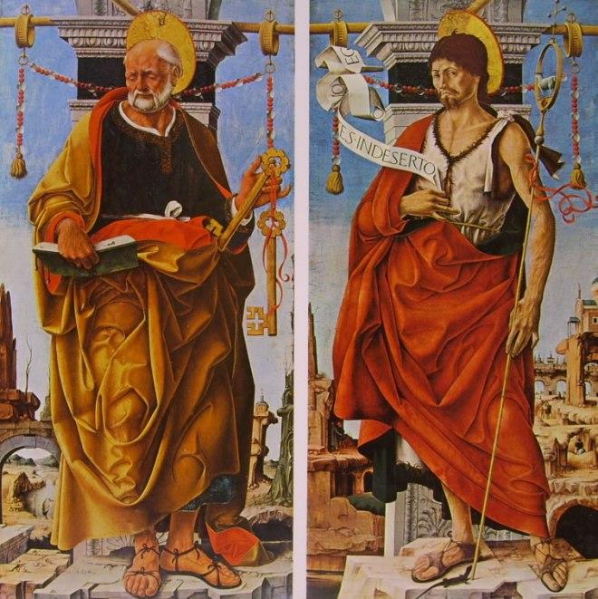 Francesco del Cossa: San Pietro e San Giovanni Battista