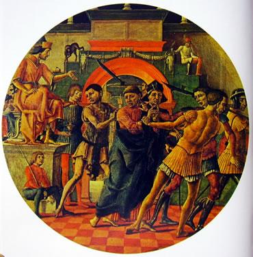 Polittico di San Maurelio - Il giudizio di San Maurelio