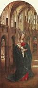 Madonna in una chiesa gotica