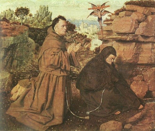 Jan van Eyck:Le stigmate di San Francesco