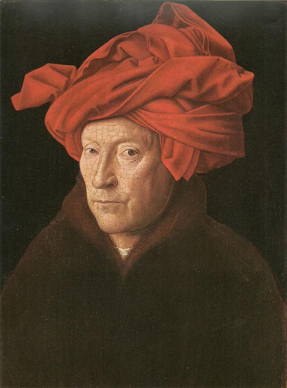 Jan van Eyck:L'uomo col turbante