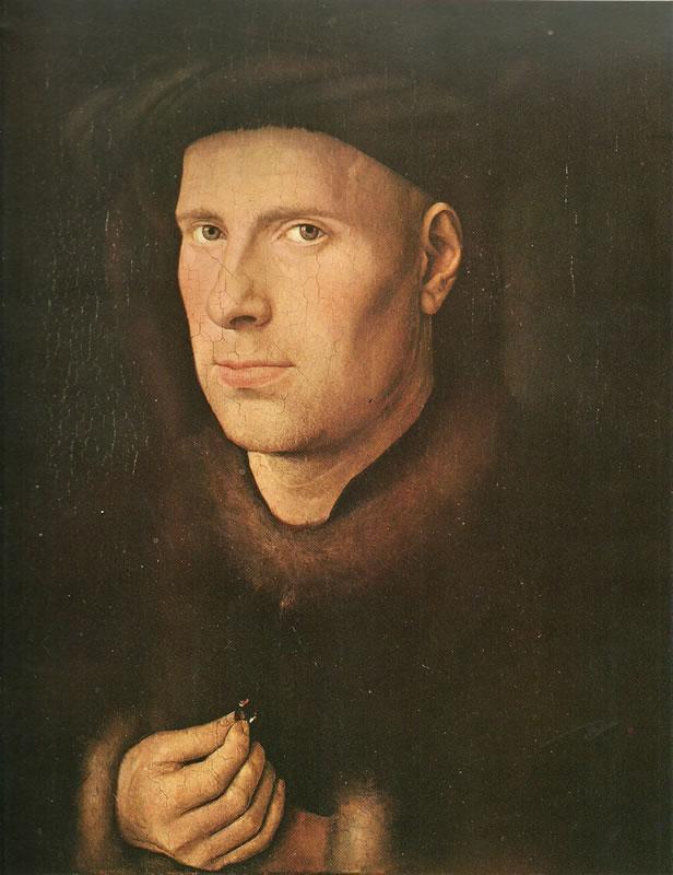 Jan van Eyck:Ritratto di Jan de Leeuw