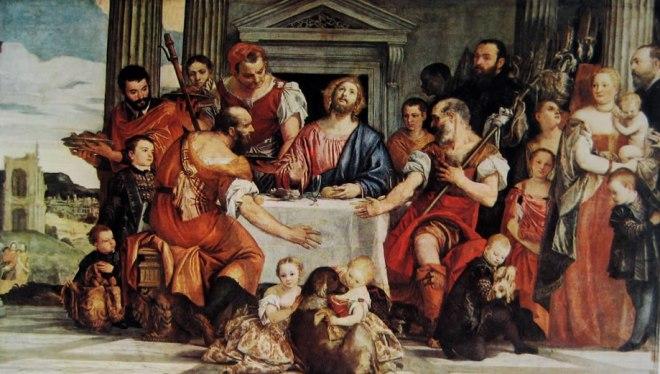Il Veronese: La cena in Emmaus