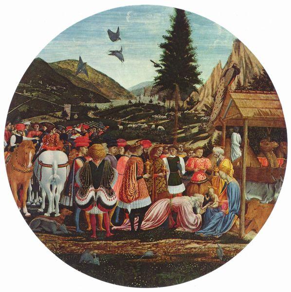 Domenico Veneziano: Adorazione dei Magi