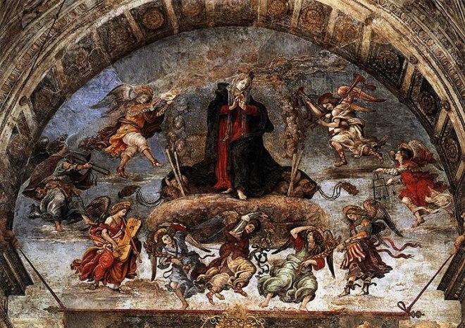 Filippino Lippi -Cappella Carafa: L'Assunzione