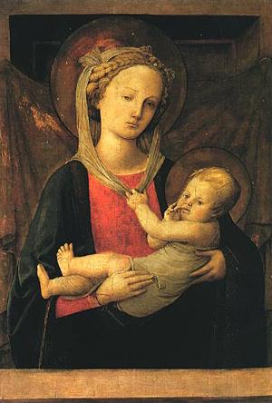 Filippo Lippi: Madonna col Bambino (Parma)