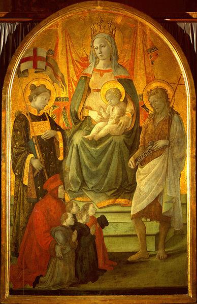 Filippo Lippi: Madonna del Ceppo