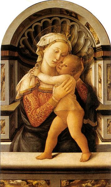 Filippo Lippi: Madonna col Bambino (Palazzo Medici-Riccardi, Firenze)